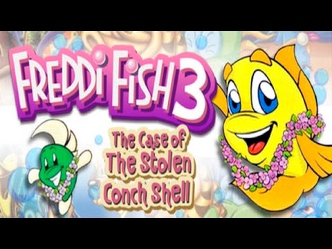 Freddi Fish 3: The Case Of The Stolen Conch Shell - Full Game HD Walkthrough - No Commentary
