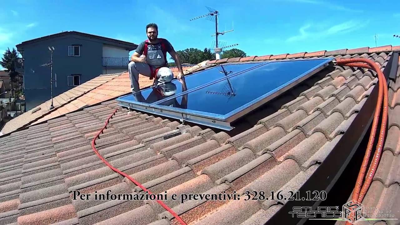Solare termico per la produzione di acqua calda sanitaria for Serbatoio di acqua calda in plastica
