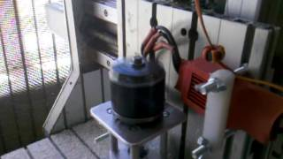 Brushless cnc spindle first real test.