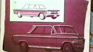 Vintage 1964 Chevrolet Corvair Video Filmstrip