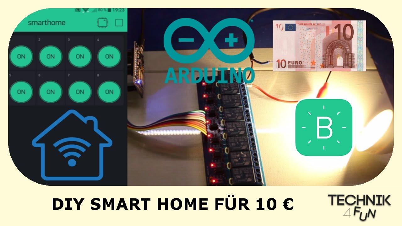 Diy Smart Home Fur 10 Selber Bauen Tutorial