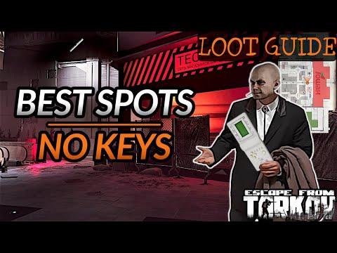 Interchange Loot Guide with Minimap | Best Spots, No Keys Needed - Escape from Tarkov