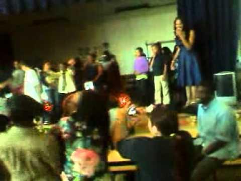 King Elementary School's Prom -- Hittin' the J-12