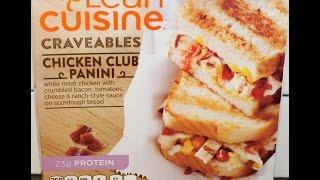 Lean Cuisine: Chicken Club Panini Review