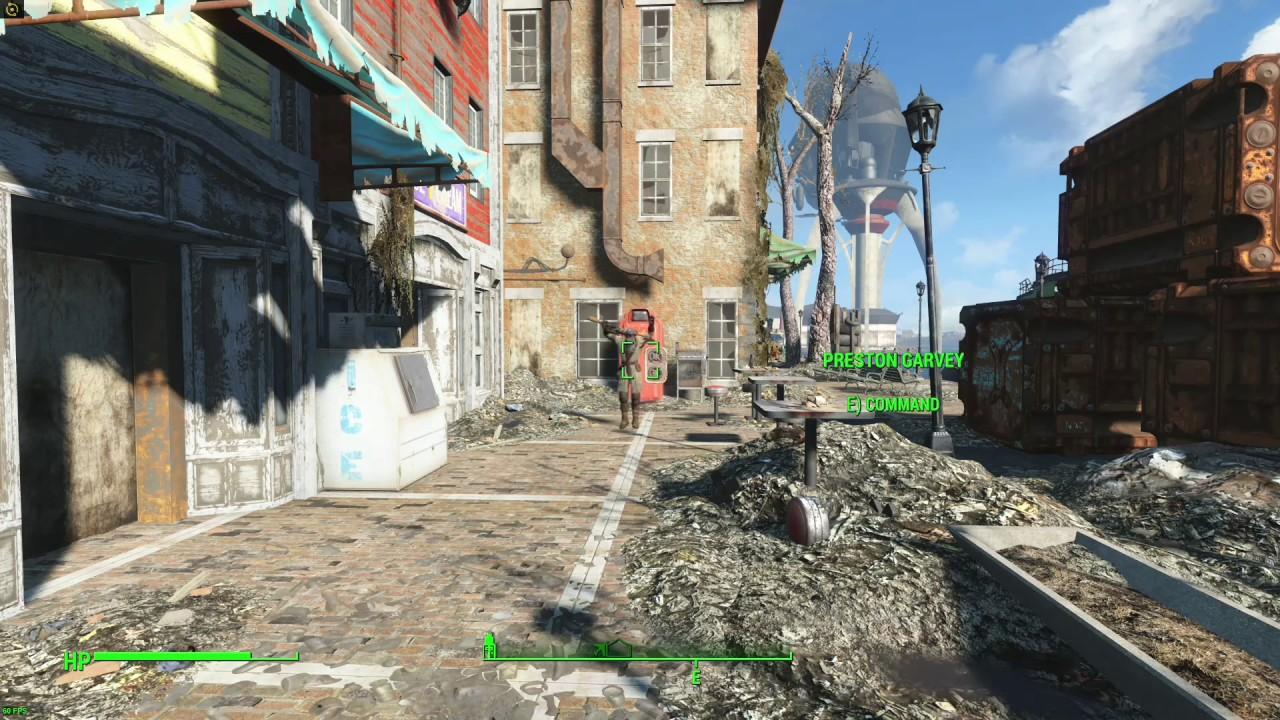 Fallout 4 Preston Garvey goes INSANE!