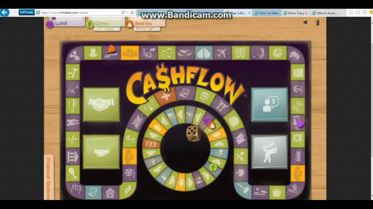 cashflow 101 the capital gain strategy part 1 gameplay youtube