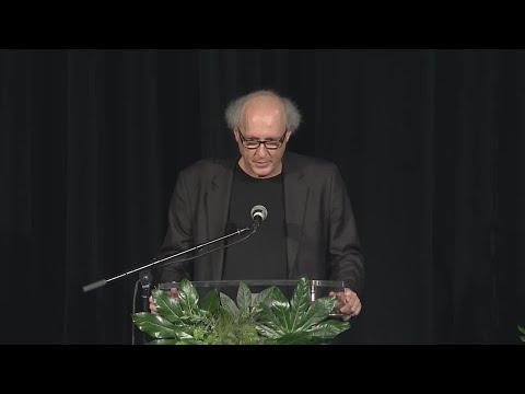 Bruce Barry Speaks At Son, Max's, Memorial Service