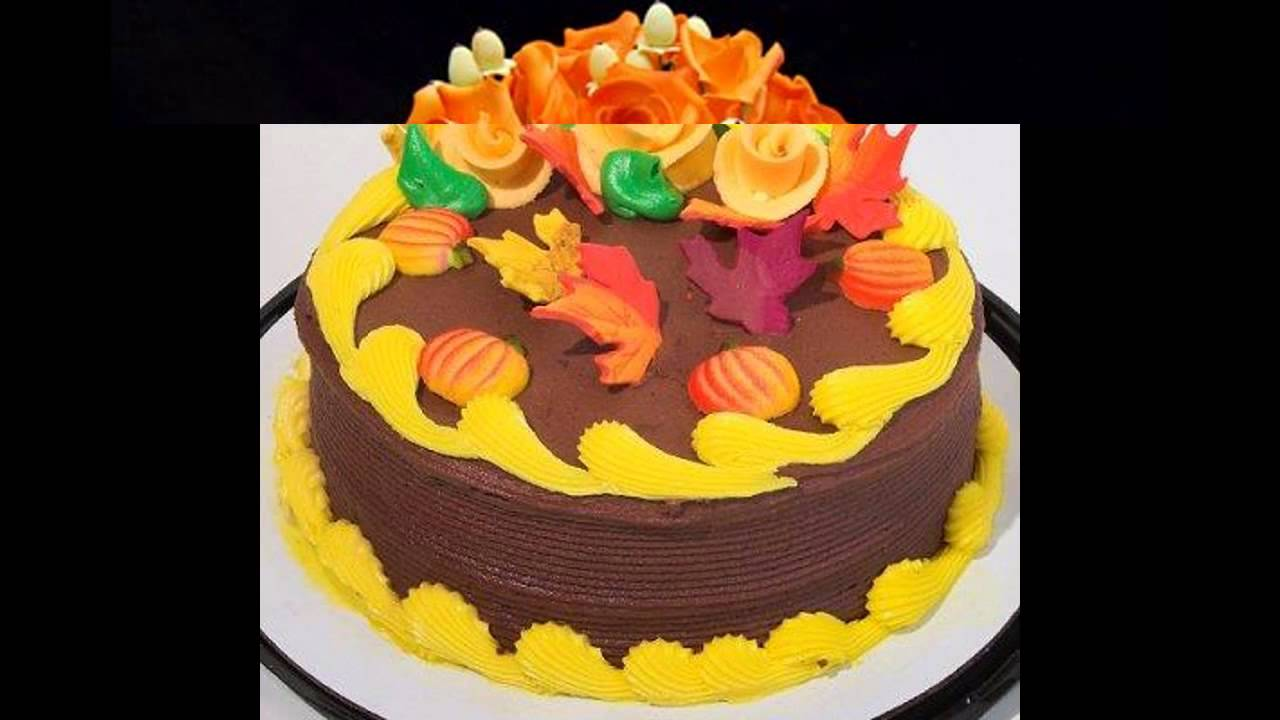 Best Fall cake decorating ideas YouTube