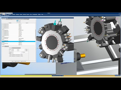 What's New in VERICUT 9.1 - Multi-Tool Station Support