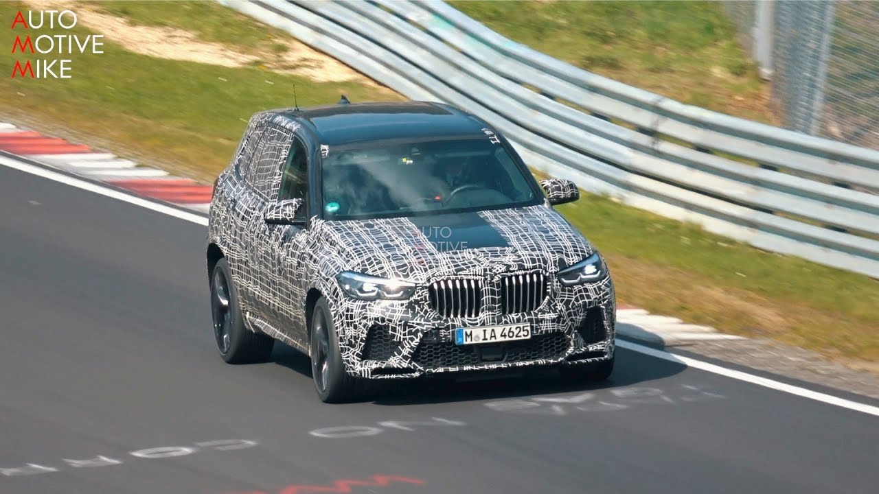 2020 Bmw X5m Spied Testing At The Nurburgring Youtube