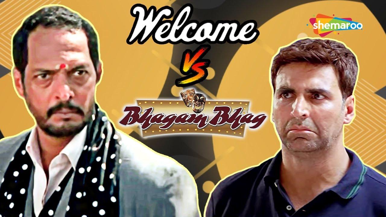 Bhagam Bhag V/S Welcome - Best of Comedy Scenes | Paresh Rawal | Rajpal Yadav | Akshay Kumar