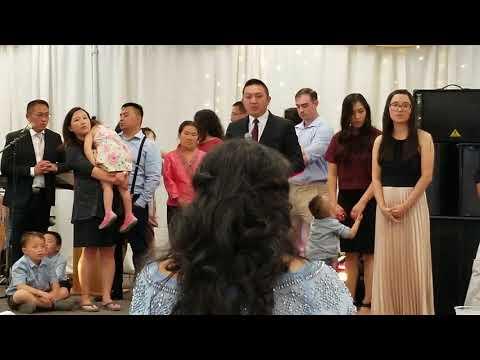 Vauv tsim meej vaj speech blessing to his mother in law,  General vang pao son thumbnail