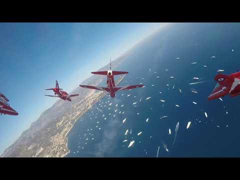 Red Arrows 2018 - Monaco