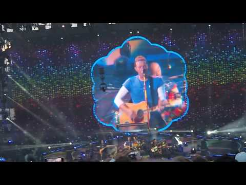 Coldplay LIVE Gothenburg - Violet Hill - June 25th 2017