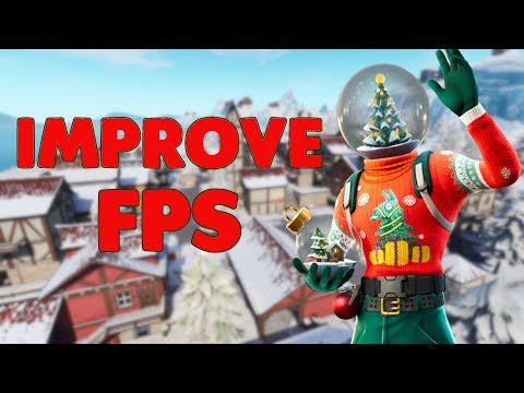 How To Improve Console Fortnite FPS And Reduce Hitching  (PS4 + Xbox Fortnite)
