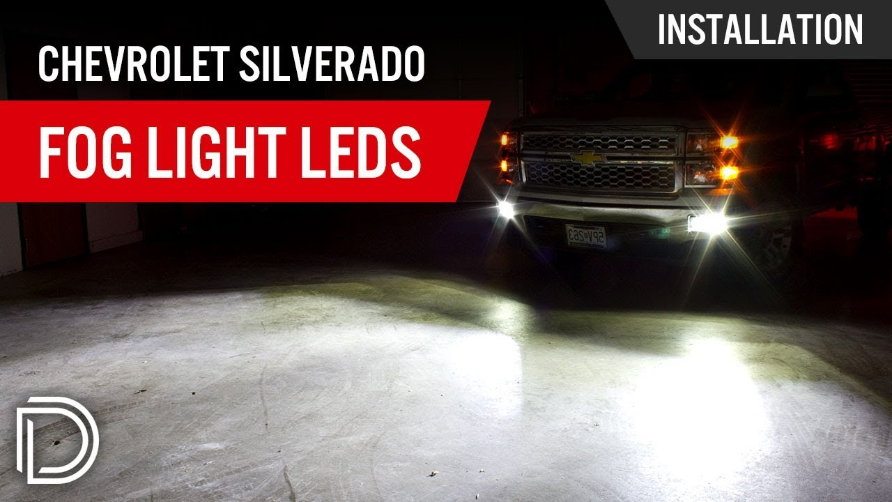 maxresdefault how to install chevrolet silverado fog light leds youtube  at readyjetset.co