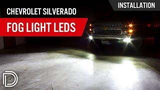 How To Install Chevrolet Silverado Fog Light LEDs