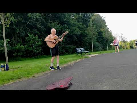 Download 'Hugh' Playing Guitar  Ormeau Park - Belfast