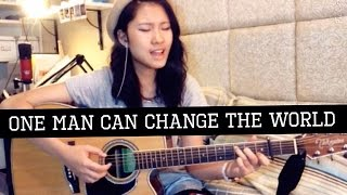 Video Big Sean-''One man can change the world'' Acoustic Cover by Barbie Mak download MP3, 3GP, MP4, WEBM, AVI, FLV Juni 2018