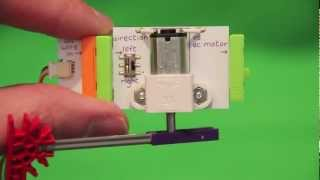 Little Bits Electronic Building Kit Review.  A Little Bit of Geeky Fun