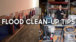 Flood Clean-up - 5 Steps Including Mold Control