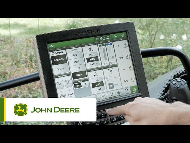 John Deere | Engine - Transmission Tractor Optimization