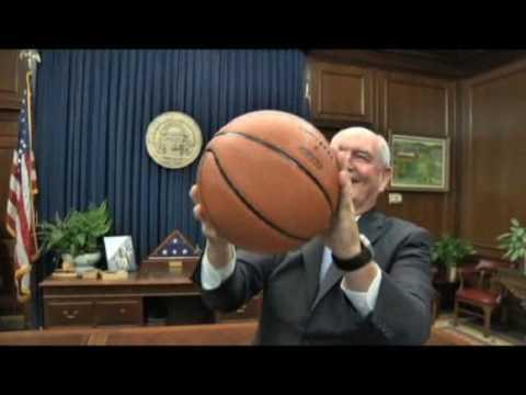 HOOPATLANTA 2010 - Governor Sonny Perdue