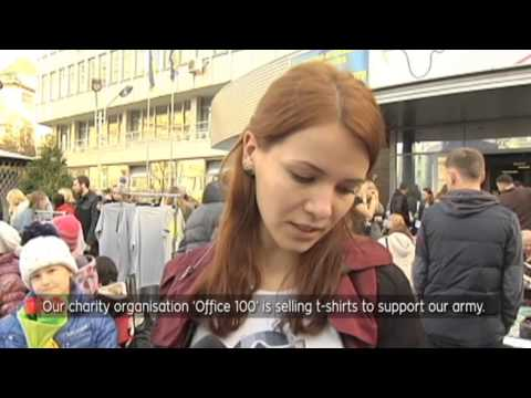Ukraine Today Special Report: Ukrainian entrepreneurs sell wares at Kyiv Market
