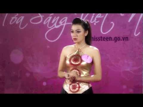 Lương Thị Thùy Dung   SBD 372   Ngôi sao tuổi teen Việt Nam   Miss Teen 2012