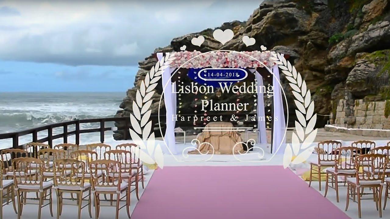 Portugal Wedding Arriba By The Sea || Harpreet & James || ~  Lisbon Wedding Planner