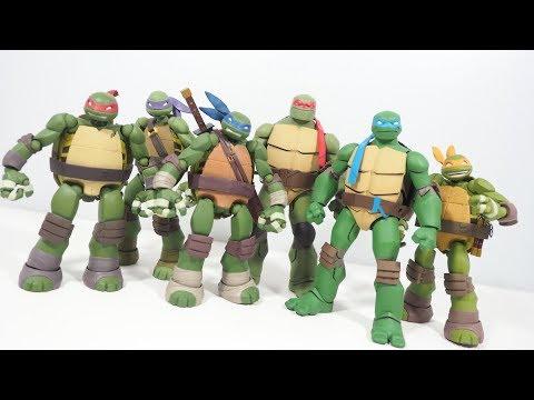 Is It Worth It Dc Collectibles Batman Vs Teenage Mutant Ninja Turtles Figures Youtube