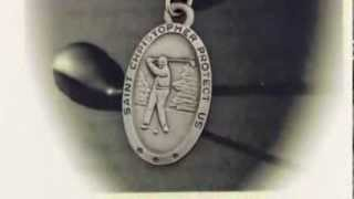 Boys St. Christopher Golf Medal with Prayer Card - PC0029