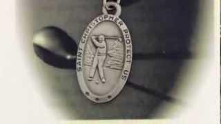 Boys St. Christopher Golf Medal with Prayer Card - PC0029