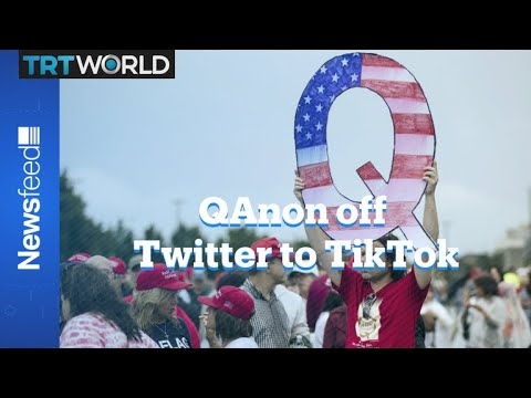 Banned from Twitter, QAnon conspiracists make use of TikTok