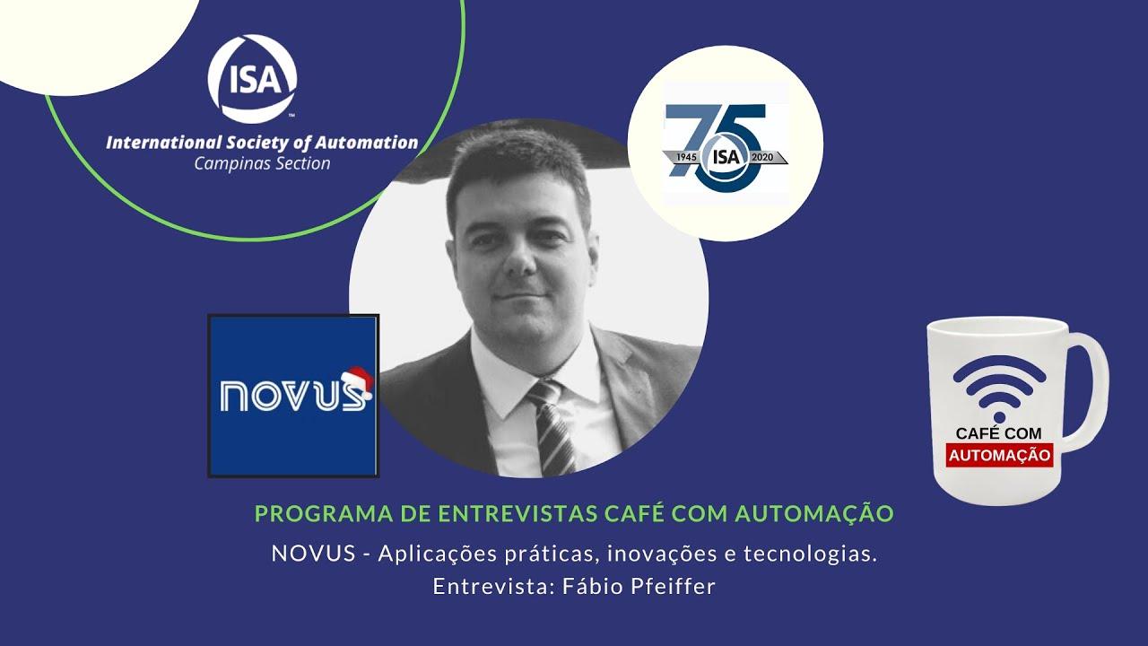 Café Com Automação - Fabio Pfeiffer - Novus