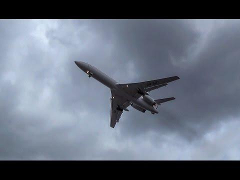 [RARE!] Kyrgyzstan Government TUPOLEV TU-154 [EX-00001] - AWESOME landing @ Berlin-Tegel Airport!