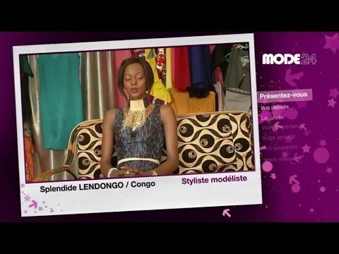 MODE 24 - Congo: Splendide Lendongo, styliste-modéliste