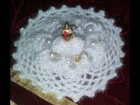 Kanha ji dresses (white colour pearl dress)