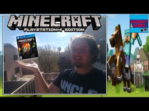 Minecraft (PS4) OPEN SERVER - PLAY WITH SUBS!! - SJOWORLD!
