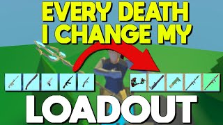 1 DEATH = CHANGE MY LOADOUT In Strucid... (Roblox Fortnite)