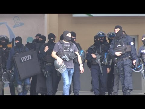 France's elite police units learn to work together