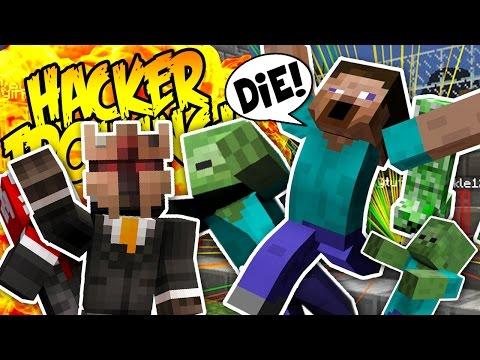 WORLD'S WORST MOB AURA! (Minecraft Hacker Trolling)