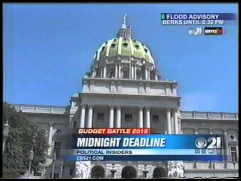 Charlie Gerow on Governor Wolf's Budget Veto
