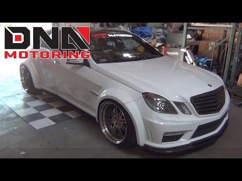 DNA Motoring 10-12 Mercedes Benz E-Class / E63 AMG Tail Lights Installation