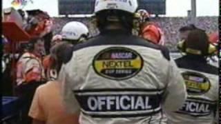 2004 NASCAR Chicago 400 - Tony Stewart and Kasey Kahne pit crews fight after Kahne crash