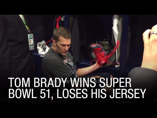 tom brady lost his jersey