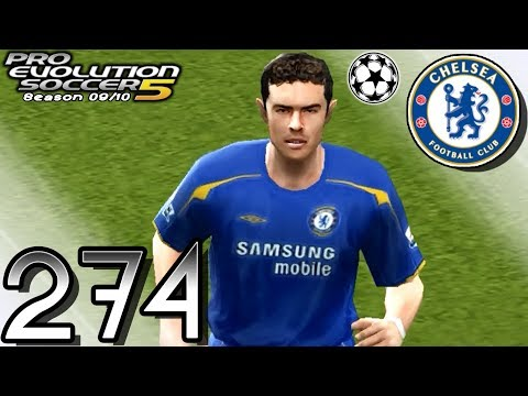 PES 5 Master League - vs Chelsea (A) [UCL Quarter Final - 2nd Leg] - Part 274