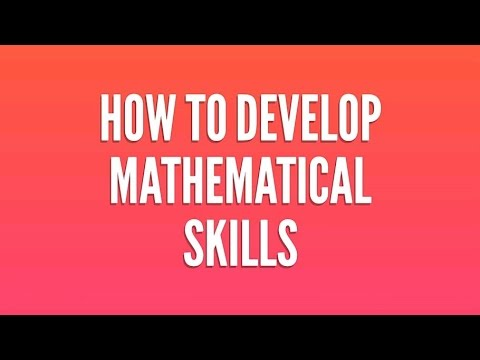 HOW TO DEVELOP MATHEMATICAL SKILLS BY PANKAJ RAWAT....