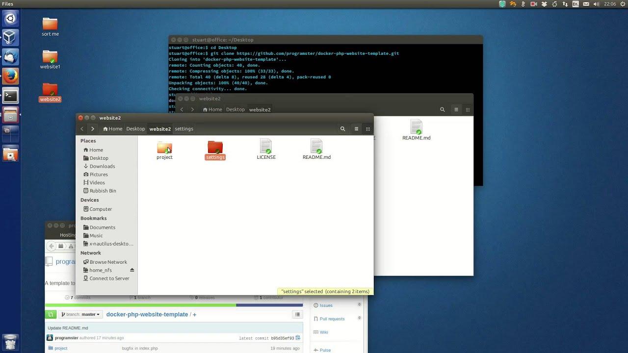 Hosting Multiple Dockerized Websites on a Single Host