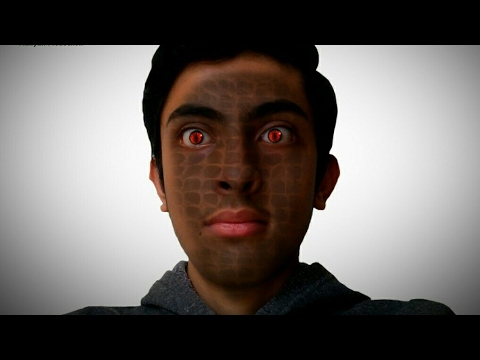 Naagin Drama Vfx Effect Tutorial | How To Make Snake Skin Vfx Effect in  After Effects 2017